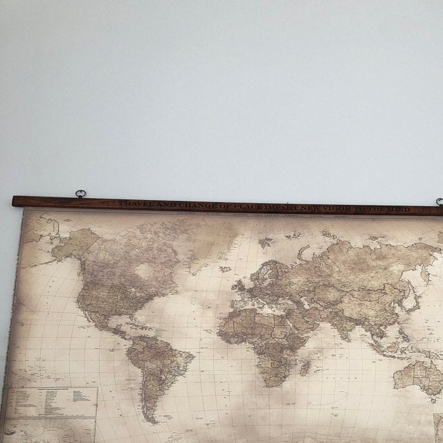 Canvas world map Kelly review